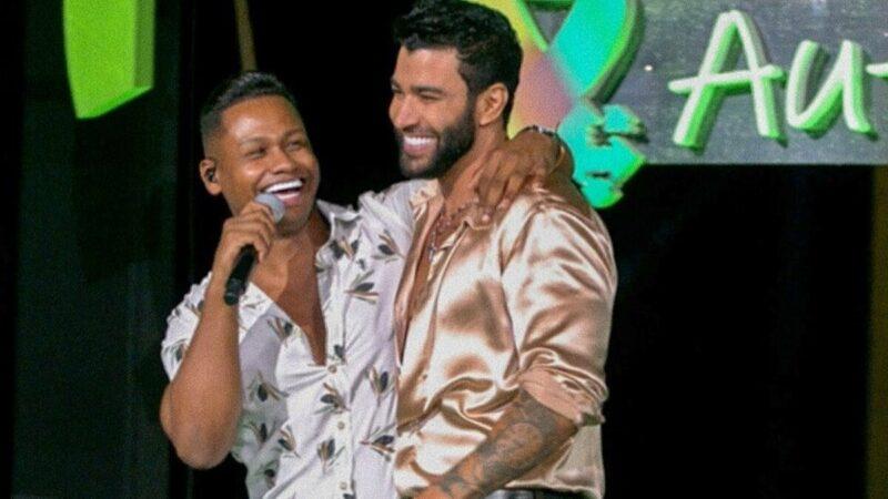 Gusttavo Lima canta com Júnior Marques em live no Mato Grosso e sertanejo faz agradecimento