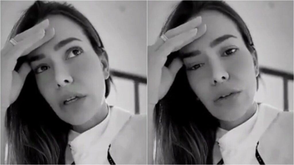 Morando nos EUA, Adriana Sant'Anna reclama por não ter diarista que faça de tudo em casa