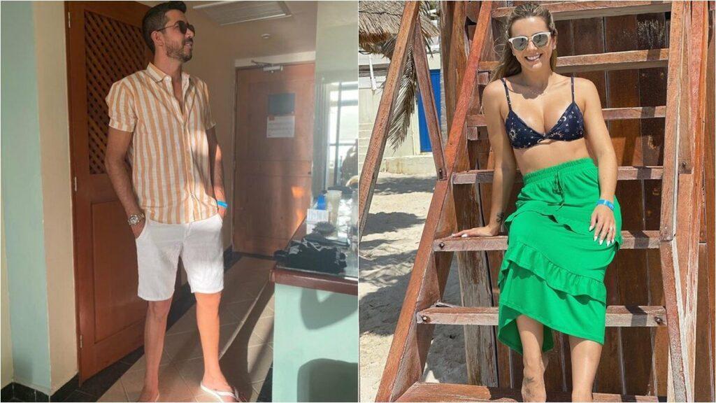 """De férias com a esposa no México, irmão de Gusttavo Lima diz que quer ser pai: """"Estamos trabalhando"""""""