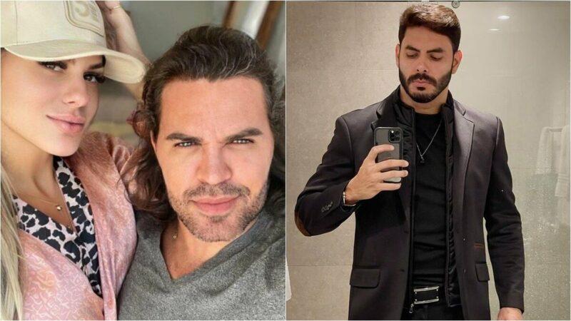 """Rodolffo manda mensagem para affair de Eduardo Costa, acusada de trair o marido: """"Azedou aí?"""""""
