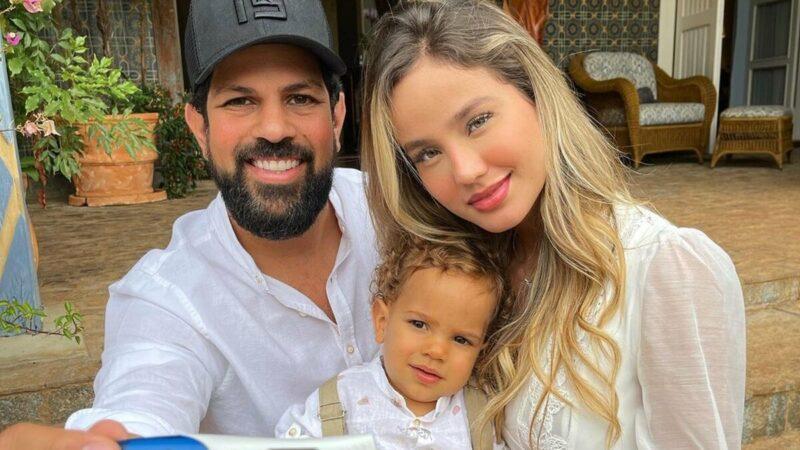 Biah Rodrigues e Sorocaba anunciam que estão à espera do segundo filho