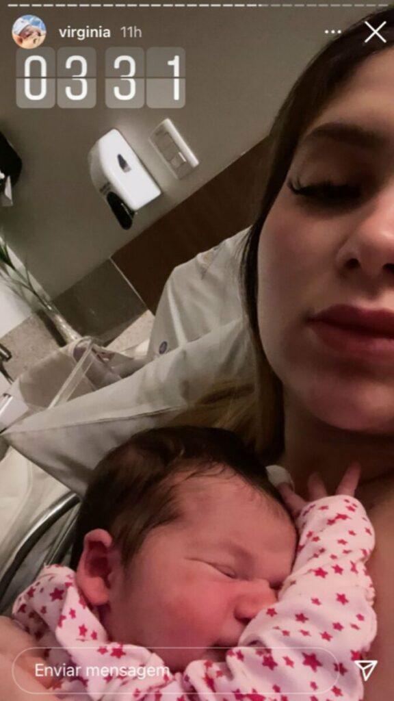 """Virginia Fonseca passa perrengue após nascimento da filha, Maria Alice: """"Acordou a noite inteira"""""""
