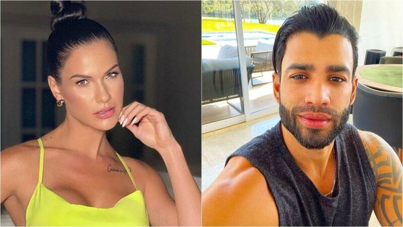Andressa Suita esclarece o porquê de não ter viajado com Gusttavo Lima para os Estados Unidos