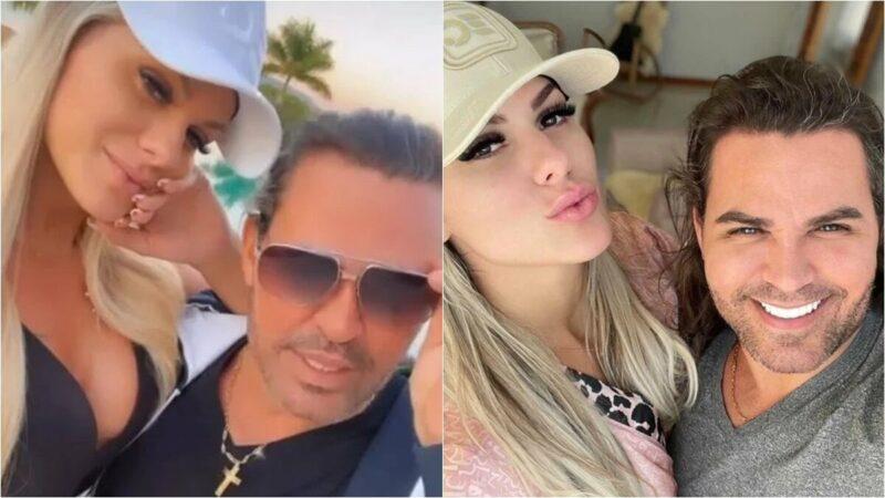 """""""Ele tem dona"""", diz Mariana Polastreli ao assumir romance com Eduardo Costa"""