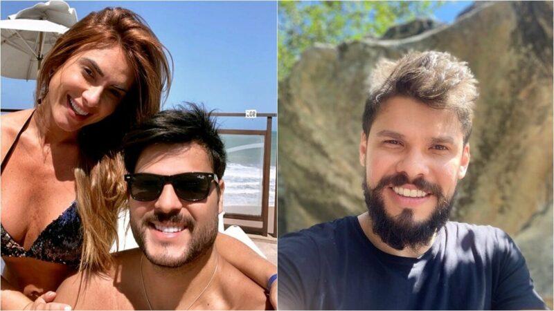 """Após separação de Nicole Bahls, irmão de Andressa Suita faz convite: """"Vem pra Goiás bb"""""""