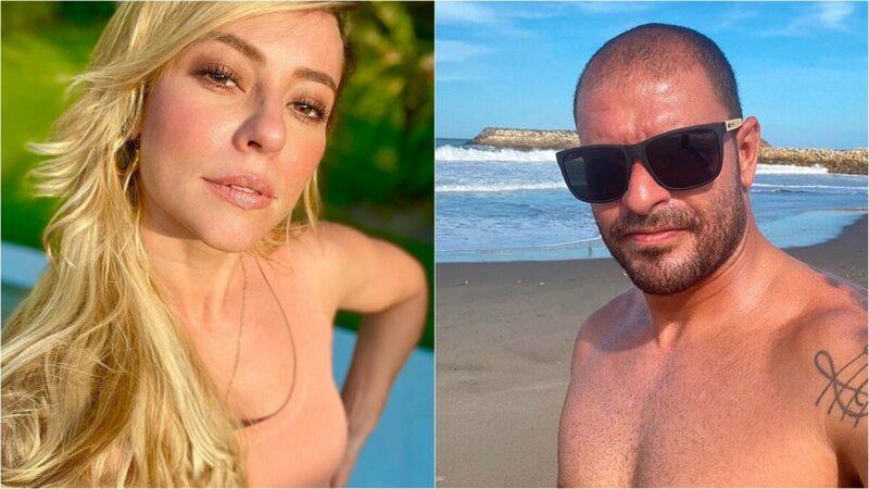 "Diogo Nogueira posta foto sensual com Paolla Oliveira: ""Clima tá ficando quente"""