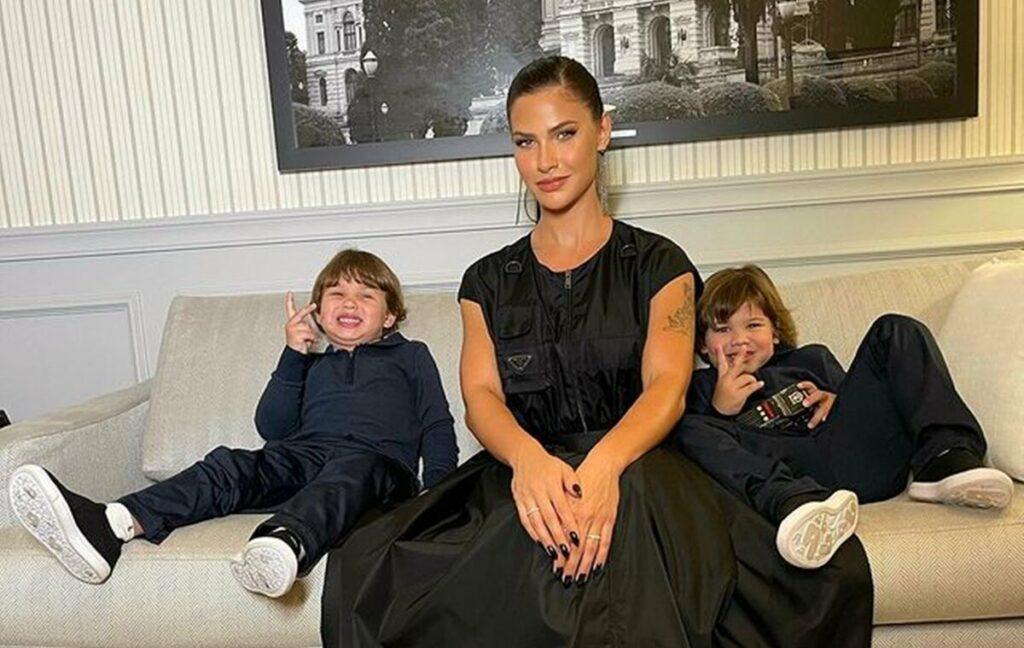 Andressa Suita revela que os filhos influenciam nos seus looks