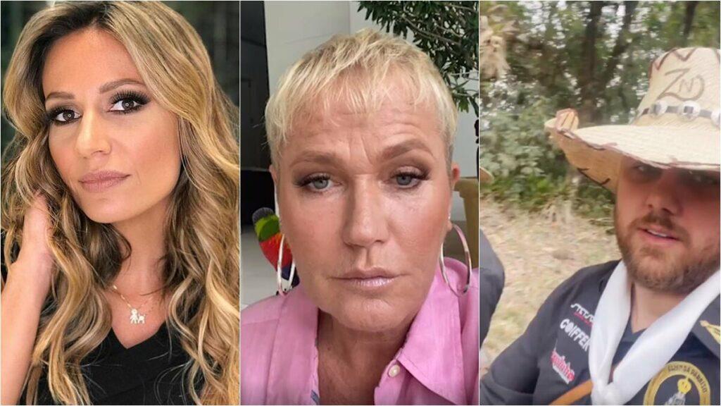 Xuxa e Luisa Mell criticam Zé Neto por usar burro para pagar promessa; Cantor se defende