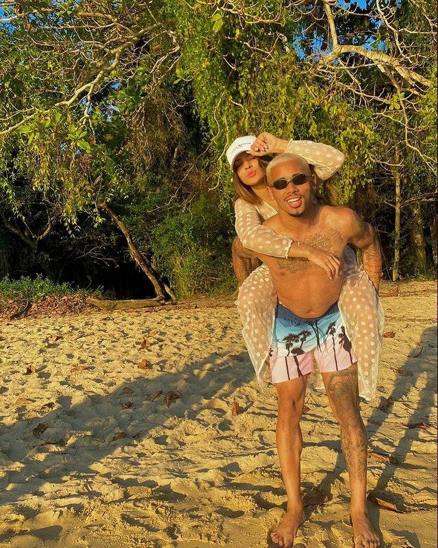 Gabriel Jesus engravida a namorada, Raiane Lima, com dois meses de romance